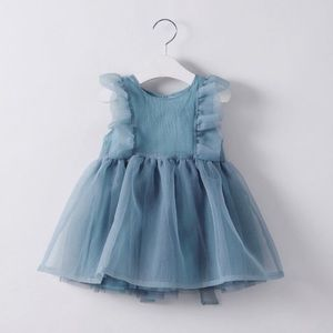 Girls organza dress - size 5 years